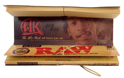 Wiz Khalifa RAW Connoisseur KS Rolling Papers 2