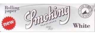 Smoking White 1 1/4 Papers Box/25