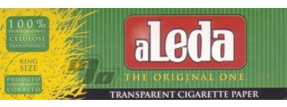 Aleda Transparent King Size Rolling Papers