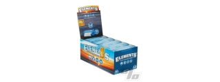 Elements Slim 1 1/4 Rolls Box of 10