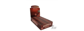 Elements Red Hemp Rolling Papers 1 1/4 Box of 25