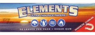 Elements Ultra Rice 1 1/4 Rolling Papers