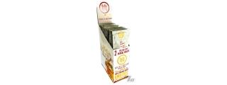 High Hemp Organic Honey Blunt Wraps Box of 25
