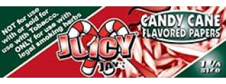 Juicy Jay's Candy Cane 1 1/4 Rolling Papers