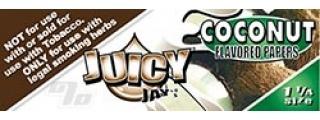 Juicy Jay's Coconut 1 1/4 Box of 24