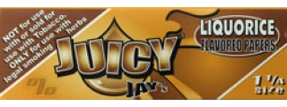 Juicy Jay's Liquorice 1 1/4 Rolling Papers