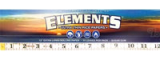 "Elements Huge 12"" Rolling Papers Box/22"