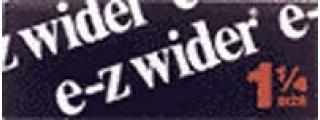 E-Z Wider 1 1/4 Box of 24