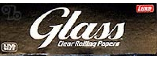 Glass Transparent King Size Papers Box/40