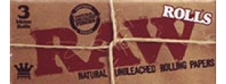 RAW Natural 1 1/4 Rolling Paper On A Roll