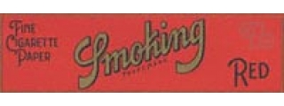 Smoking #8 Red Rolling Papers