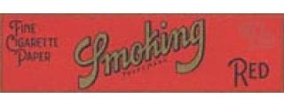 Smoking #8 Red Box of 50