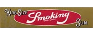 Smoking King Size Gold Slim Box of 50