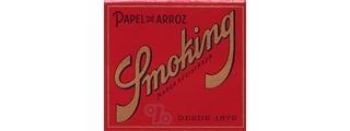 Smoking Red Square 1 1/4 Box/50