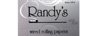 Randy's Classic Wired 1 1/4 Rolling Papers Box/25