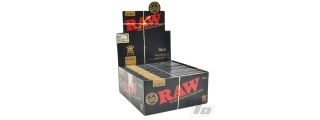 RAW Black Papers King Size Slim BOX/50