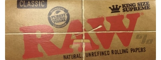 RAW Natural KS Supreme Rolling Papers