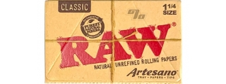 RAW Natural Artesano 1 1/4 Rolling Papers