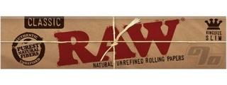 RAW Natural King Size Slim Box/50