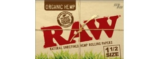 RAW Organic 1 1/2 Rolling Papers Box/25