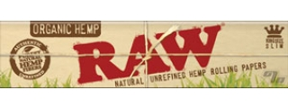 RAW Organic Hemp KS Slim Rolling Papers