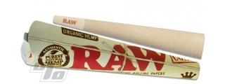 RAW Organic Hemp KS Cones 3 Pk