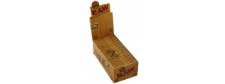 RAW Natural 1 1/2 Rolling Papers Box/25