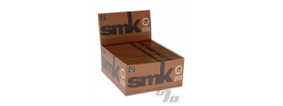 SMK Brown KS Unbleached Rolling Papers Box/50