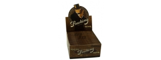 Smoking Brown King Size Unbleached Box/50