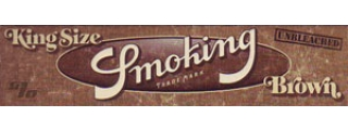 Smoking Brown Unbleached KS Rolling Papers