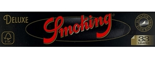 Smoking Deluxe King Size Rolling Papers