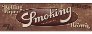 Smoking Brown Unbleached 1 1/4 Rolling Papers