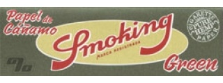 Smoking Green 1 1/4 Hemp Pack
