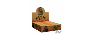 Zig Zag Unbleached KS Papers Box/24