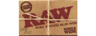 RAW Single Width Rolling Papers Box/25