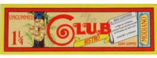 Club Bistro 1 1/4 Rolling Papers Pack