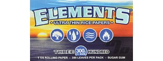 Elements 300 Rice Rolling Papers 1 1/4