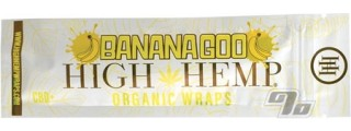 High Hemp Organic Banana Hemp Blunt Wrap