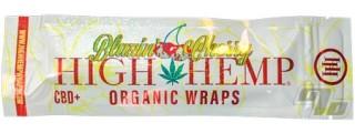 High Hemp Organic Cherry Blunt Wraps