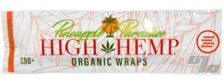 High Hemp Organic Pineapple Hemp Blunt Wrap