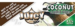 Juicy Jay's Coconut 1 1/4 Box of 24