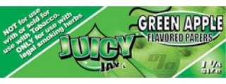 Juicy Jay's Green Apple 1 1/4 Box of 24