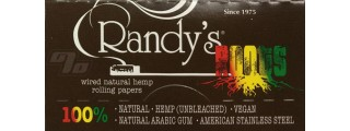 Randy's Roots Hemp Wired Rolling Papers 1 1/4