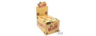 RAW Single 70/30 Cones 20 Pack Box/12
