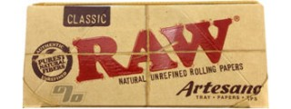 RAW Artesano KS Slim Rolling Papers Pack