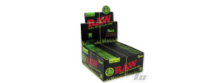 RAW Black Organic Hemp Papers KS Slim BOX/50