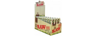 RAW Organic Hemp 1 1/4 Cones Box/32