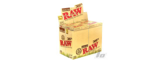 RAW Organic 300s 1 1/4 Papers Box/40