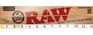 RAW Huge 12in Rolling Papers