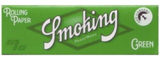 Smoking #8 Green Cut Corners Pack